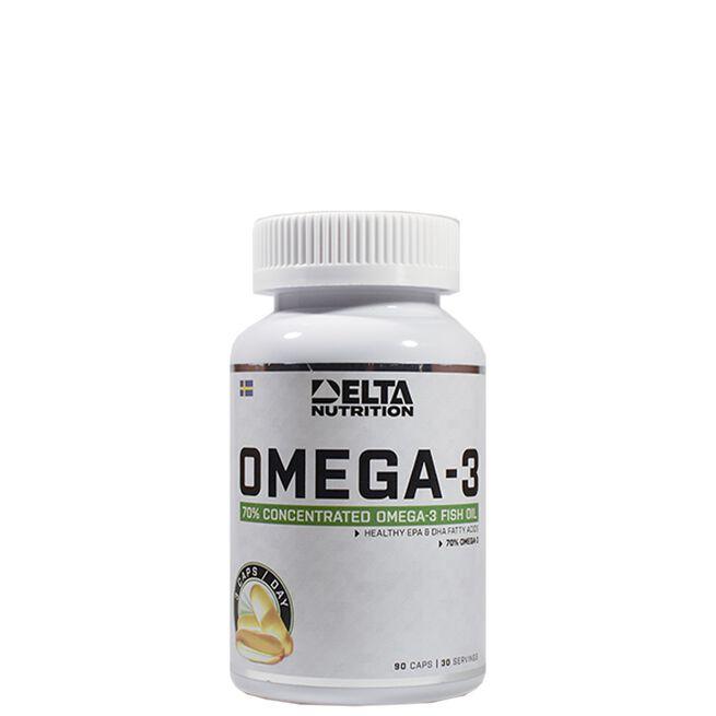 Delta Nutrition Omega-3, 90 caps