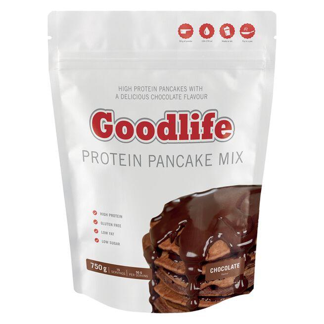 Goodlife Protein Pancakes 750 g, Chocolate - Kort Datum