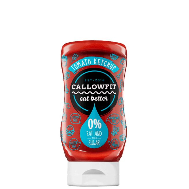 Callowfit, Tomato Ketchup, 300ml