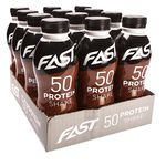 12 x Protein 50 shake, 500 ml, Chocolate