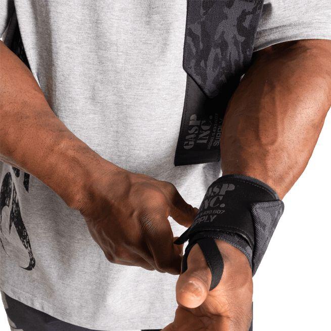 "Gasp HD Wrist wraps 24"" Dark Camo"