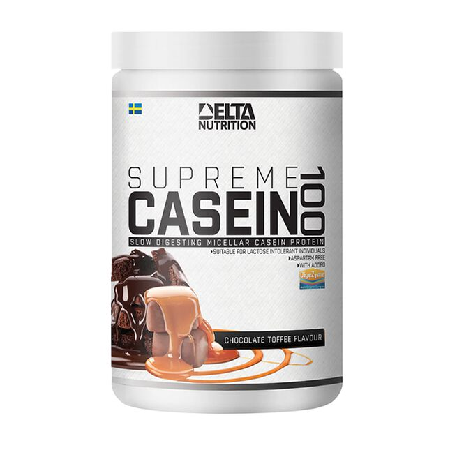Supreme Casein 100, 900 g, Chocolate Toffee