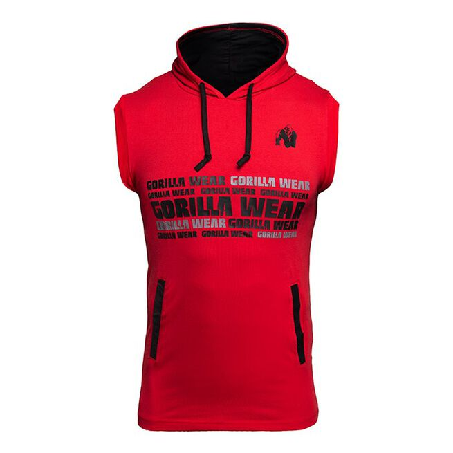 Melbourne SL Hooded T-Shirt, Red, M