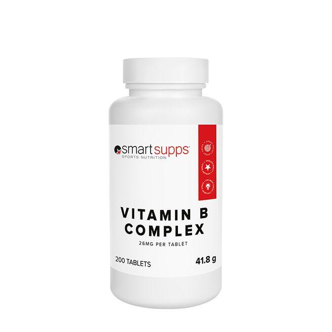 SmartSupps Vitamin B Complex, 200 tabs