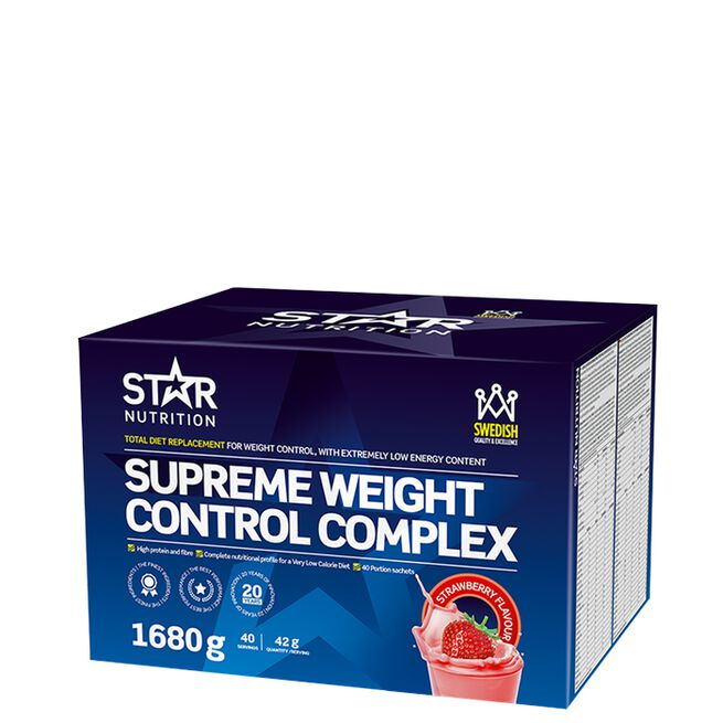 Star nutrition Supreme weight control Strawberry jordgubb