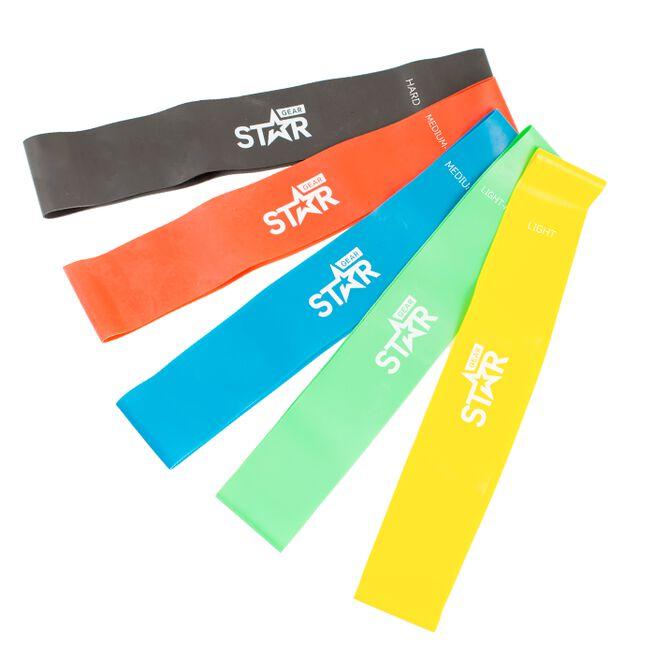 Star Gear Mini Band, Yellow, Light, 600 x 0,4mm