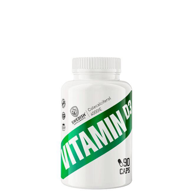 Swedish Supplements Vitamin D3, 90 caps