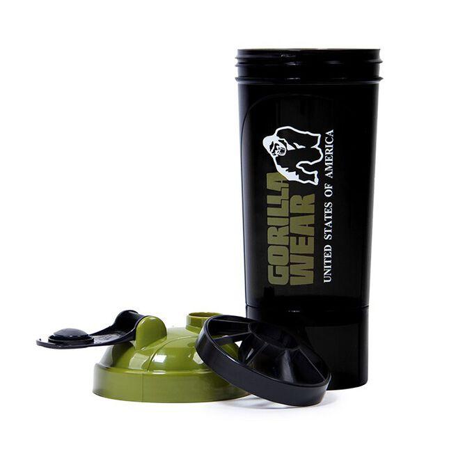 Shaker Compact 500 ml, Black/Army Green