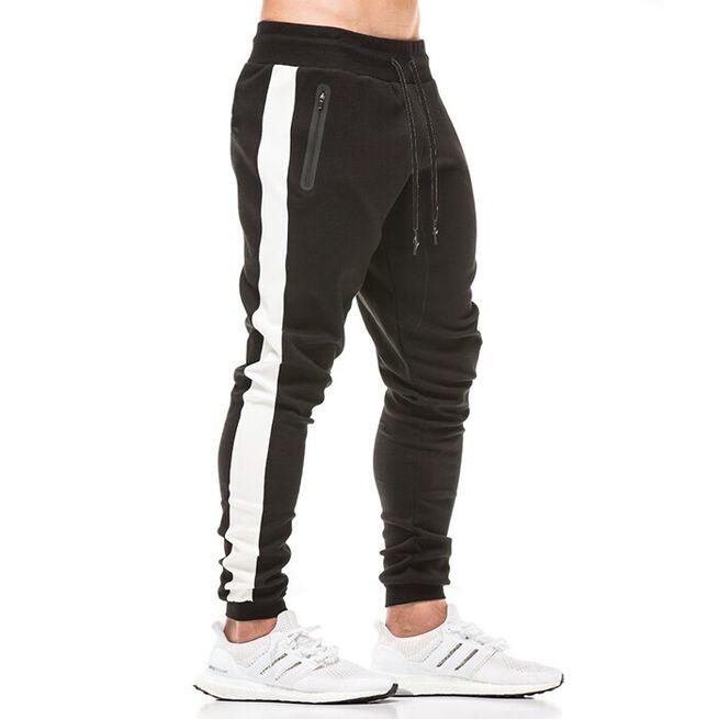 Star Gym Joggers, Black/White, M