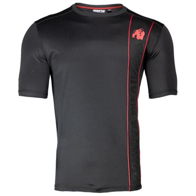 Branson T-Shirt, Black/Red, M