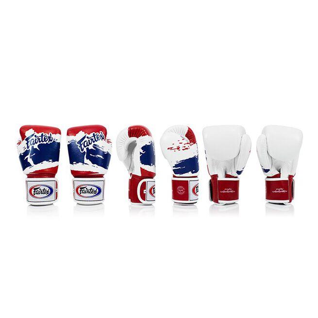 Fairtex BGV1, Boxing Gloves, Thai Flag, 10 oz