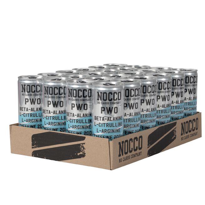 24 x NOCCO PWO, 250 ml, Blue Raspberry