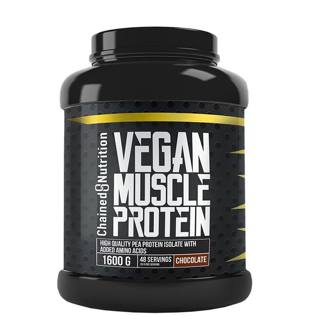 Vegan Muscle Protein, 1600 g, Chocolate