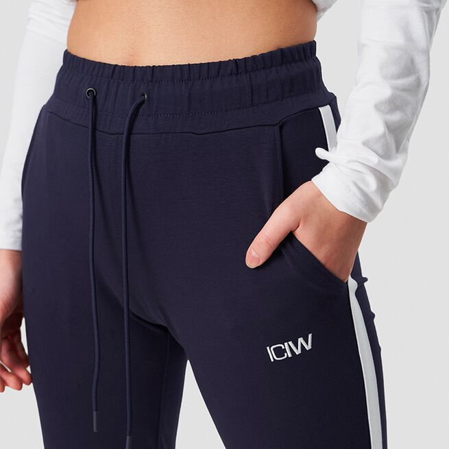 ICANIWILL Activity Stripe Pants Navy