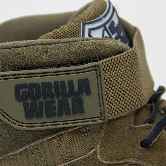 Perry High Tops Pro, Army Green, 36