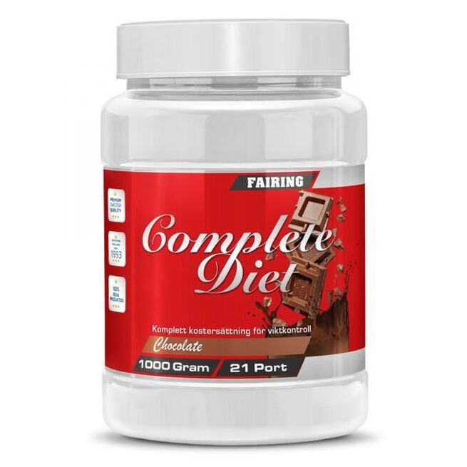 Complete Diet, 1000 g, Chocolate