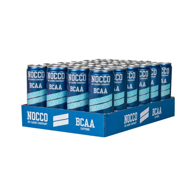 24 x NOCCO BCAA, 330 ml, Ice Soda