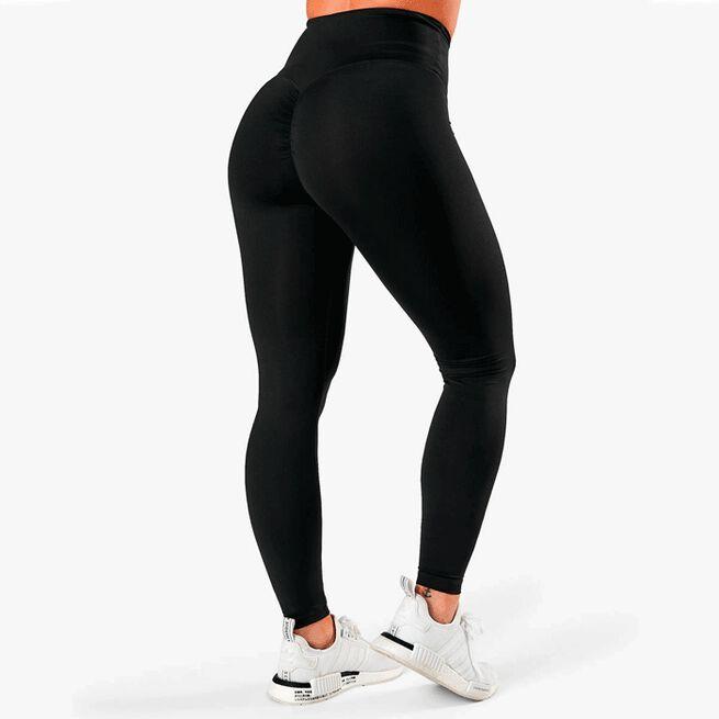 ICIW scrunch v-shape tights black