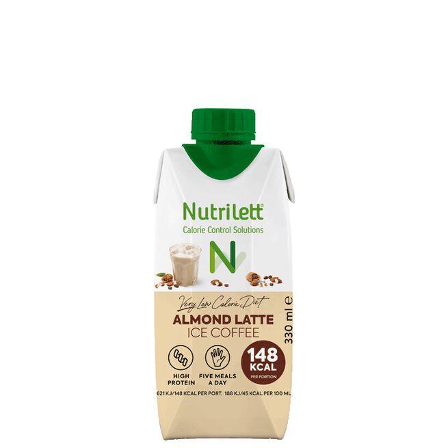 Nutrilett VLCD Smoothie Ice Coffee Almond Latte, 330 ml