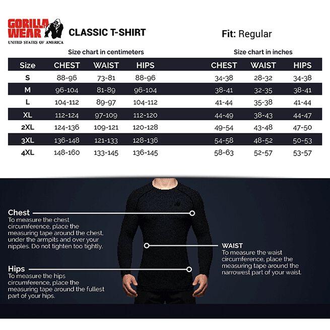 Classic T-Shirt, Black, S