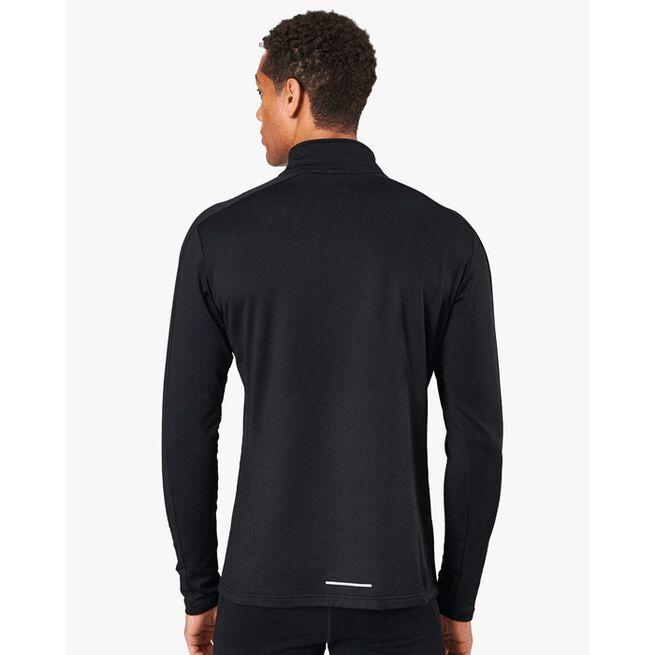 Outdoor Training Fleece Zip, Black, XXL
