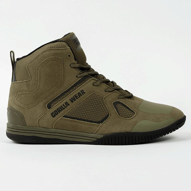 Troy High Tops, Army Green, 36