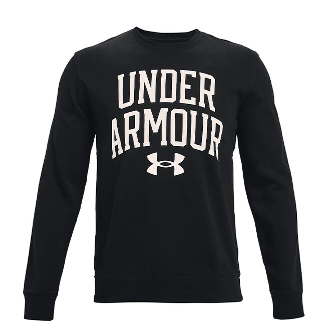 Under Armour Rival Terry Crew Black