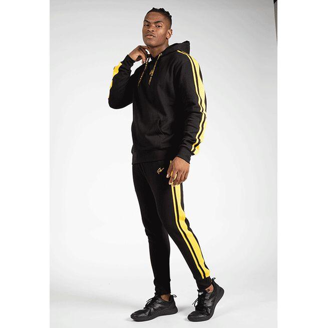 Banks Pants, Black/Yellow, S