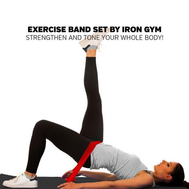 Iron Gym Exercise Band Set (set of 3)