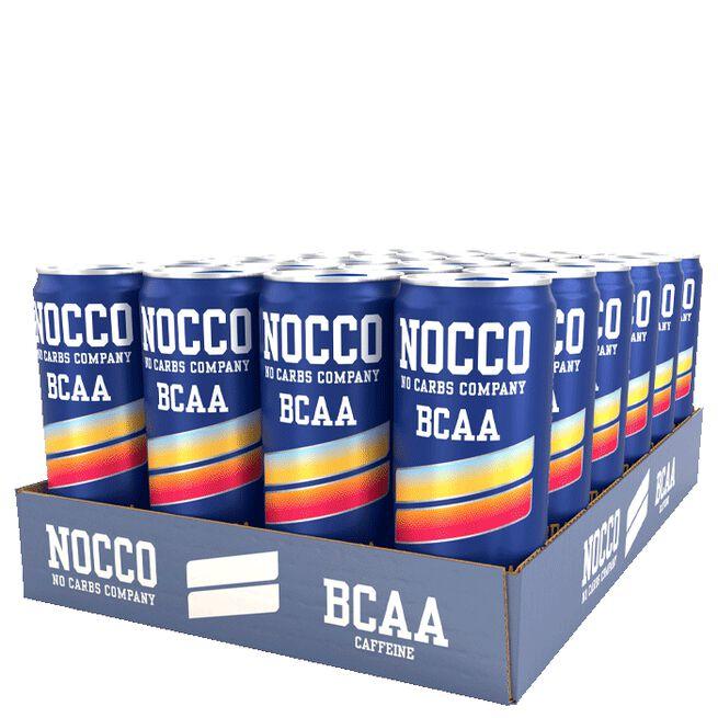 24 x NOCCO BCAA, 330 ml, Sunny Soda