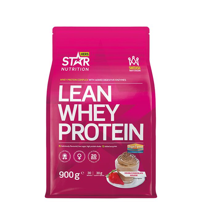 Star nutrition Lean Whey protein Double rich chocolate