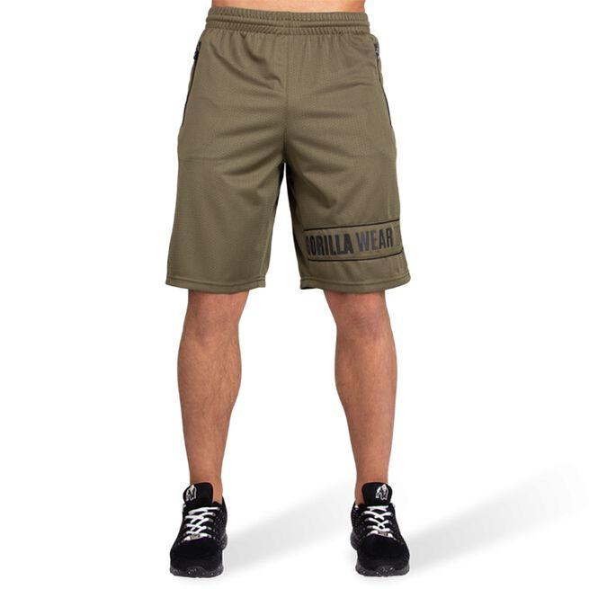 Branson Shorts, Army Green/Black, S