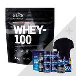 Star Nutrition Whey-100 bonus product