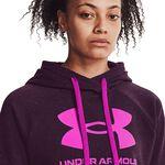 Under Armour Rival Fleece Logo Hoodie Polaris Purple