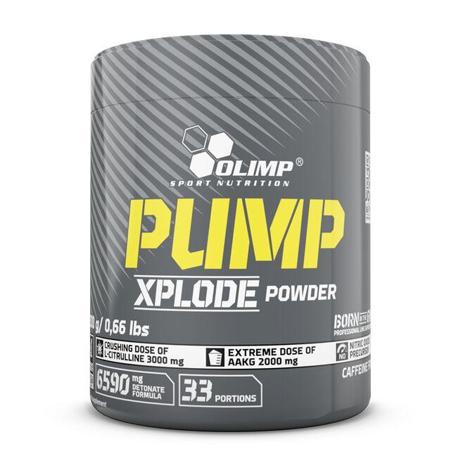 Pump Xplode Powder, 300 g, Fruit punch