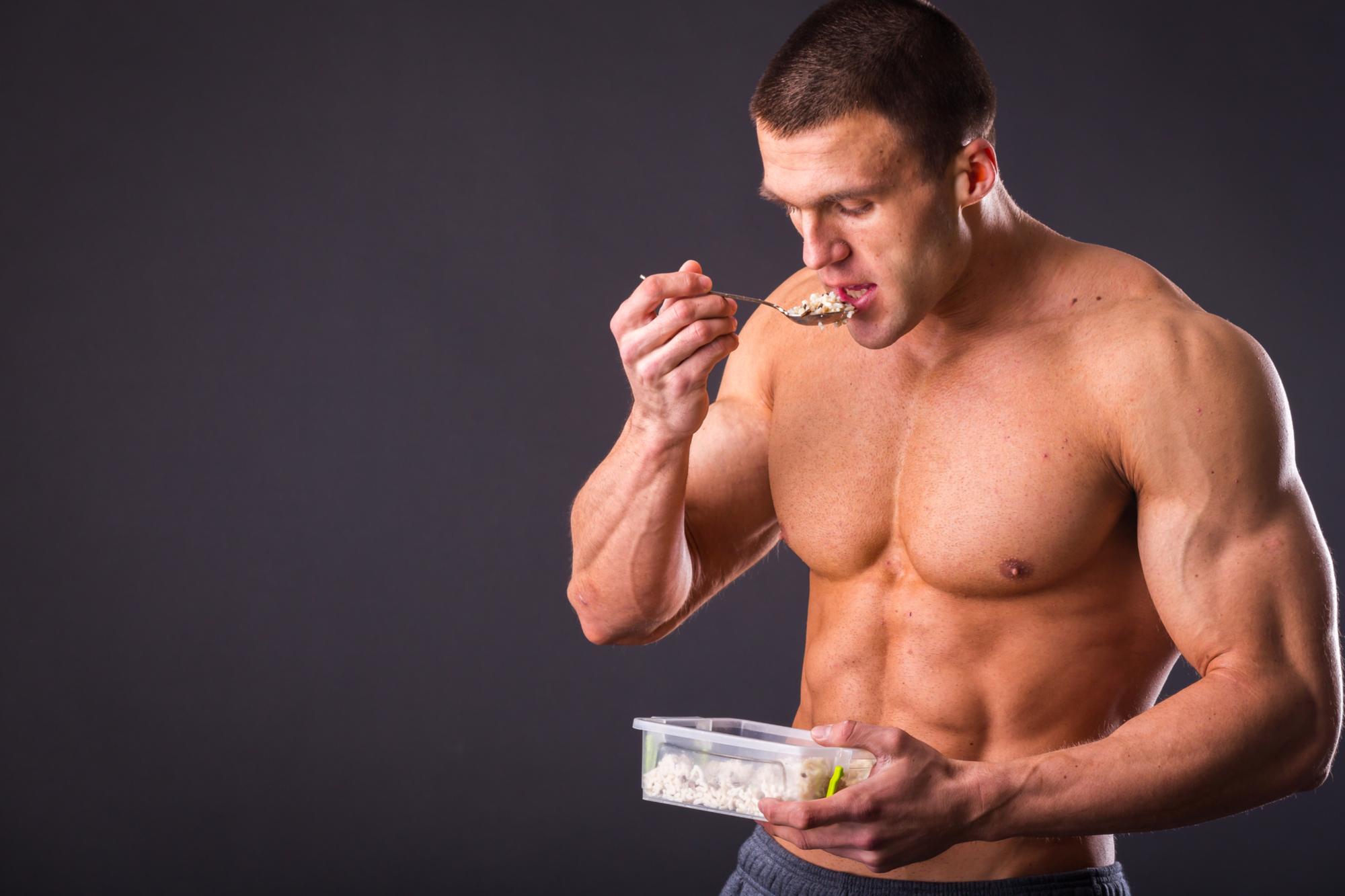 proteinpulver bygga muskler