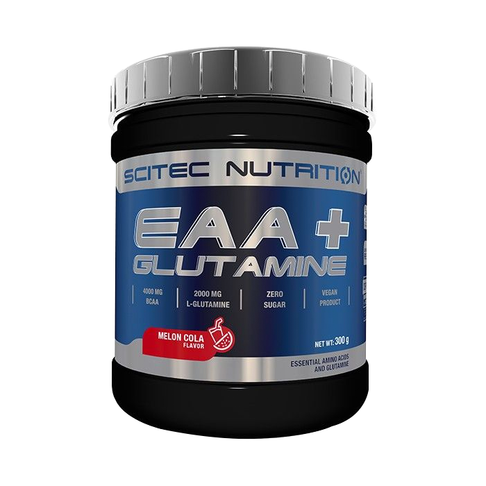 EAA+Glutamine, 300 g melon-cola