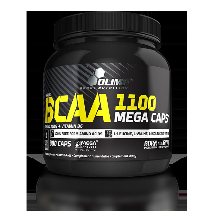 BCAA Mega Caps, 300 caps