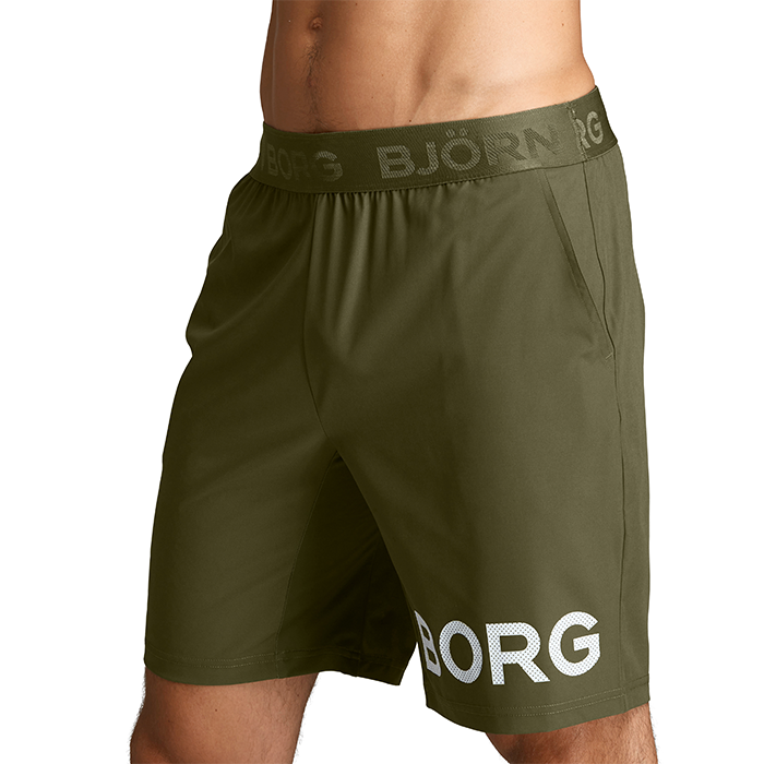 Borg Shorts, Ivy Green