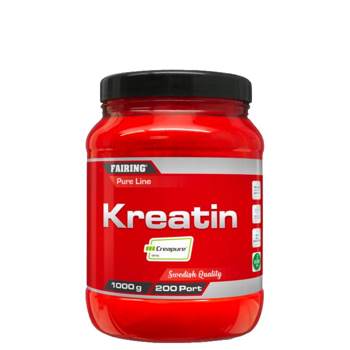 Kreatin Monohydrat, 1000 g, Naturell