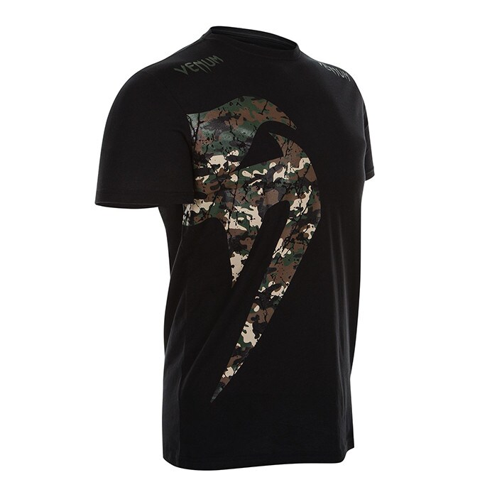 Venum Original Giant T-Shirt, Jungle Camo Black