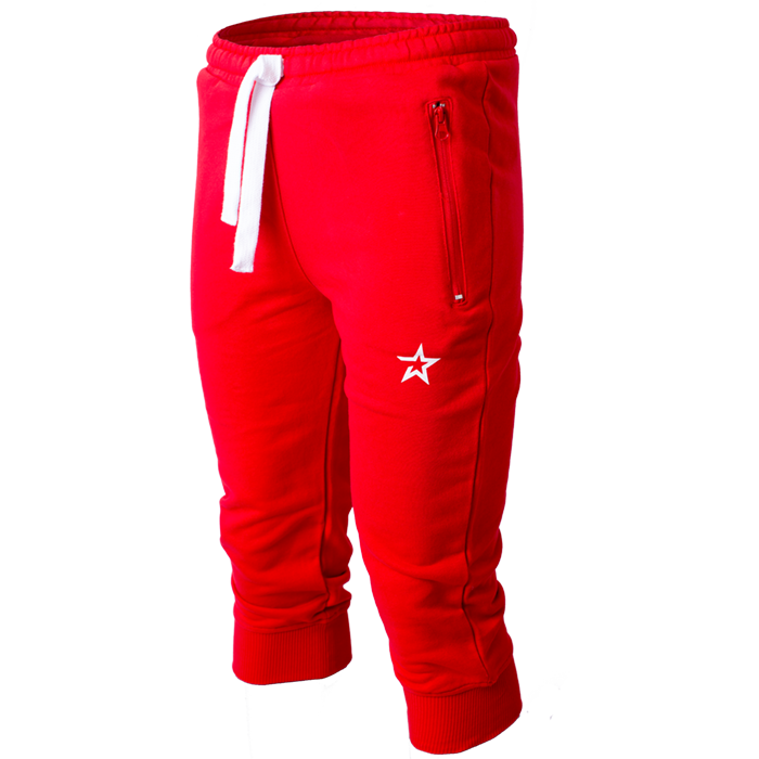 Star Nutrition 3/4 Pants, Red