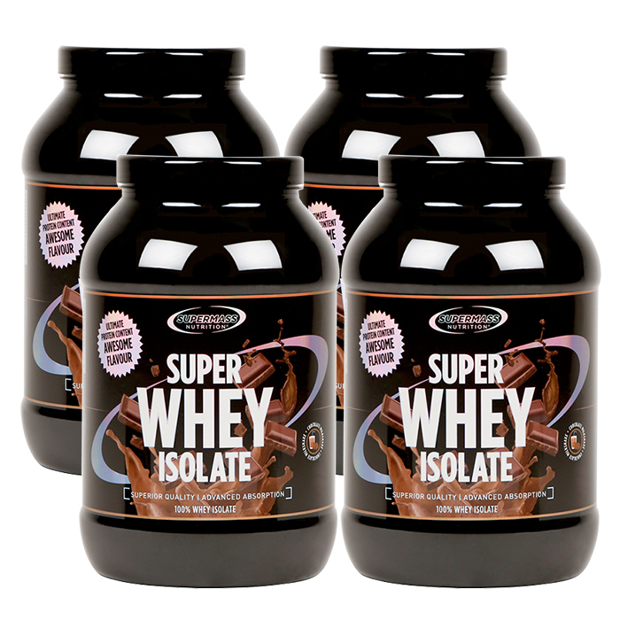 4 x Super whey isolate, 1300 g, BIG BUY