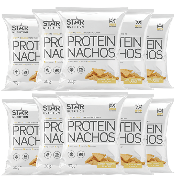 10 x Protein Nachos, 30g