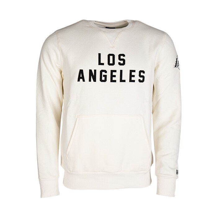 NBA Wordmark Crew Los Angeles Lakers, Off White