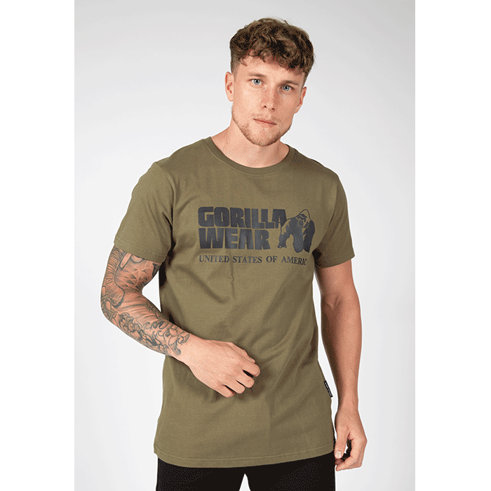 Classic T-Shirt, Army Green