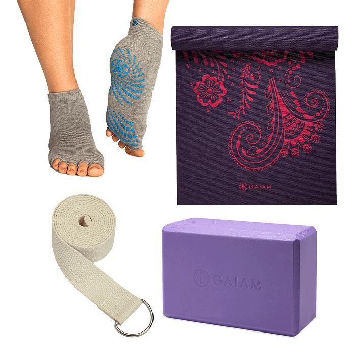 Gaiam Yogapaket