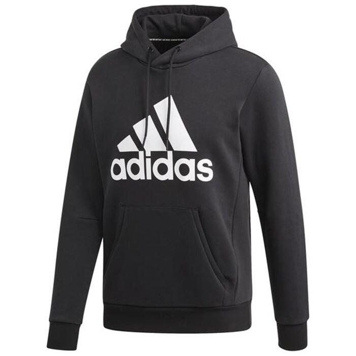 ADIDAS Badge of Sport Pullover Hoodie, Black