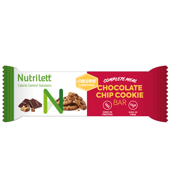 Nutrilett Chocolate Chip Cookie Bar, 60 g