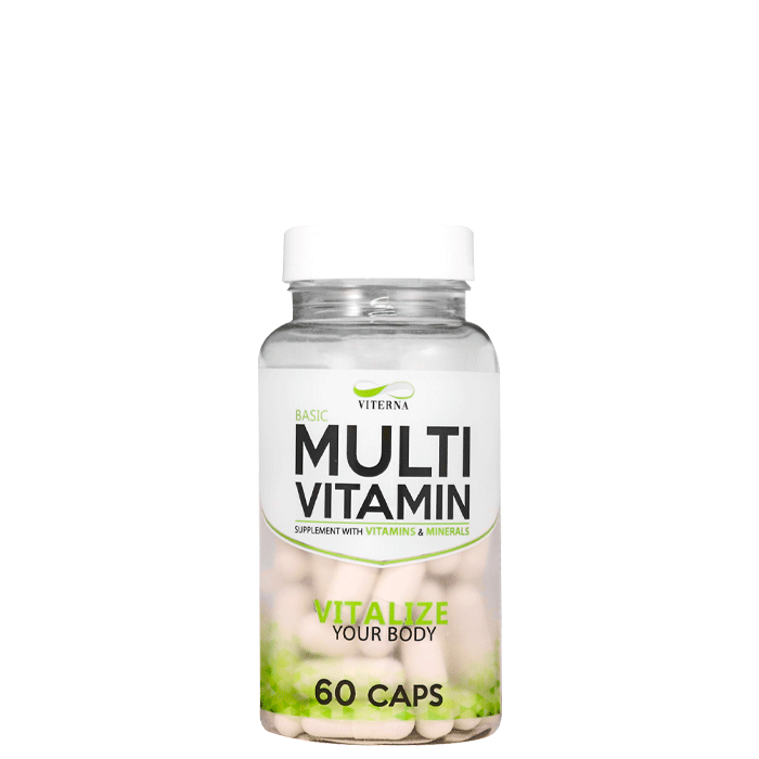 Multivitamin Basic, 60 caps